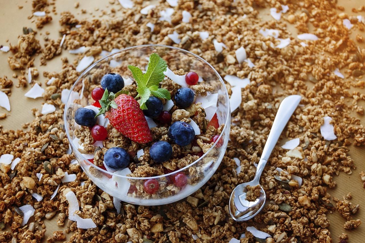 granola benefícios